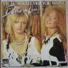 "Vinyl 45t DOLLIE DE LUXE ""Whatever you want"""
