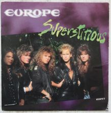 "Vinyl 45t EUROPE ""Superstitious"""