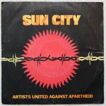 "Vinyl 45t ARTIST UNITED AGAINST APARTHEID ""Sun city"""