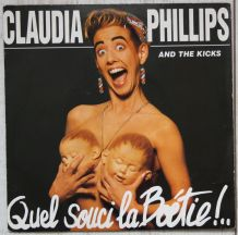 """Vinyl 45t CLAUDIA PHILLIPS """"Quel souci la Boétie"""""""