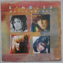 "Vinyl 45t BANGLES ""Manic monday"""
