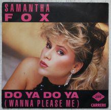 """Vinyl 45t SAMANTHA FOX """"Do ya do ya"""""""
