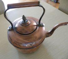 Bouilloire cuivre ancienne