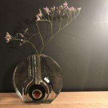 Vase soliflore en verre de murano , ancien