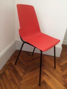 "Chaise ""fantasia"" vintage"