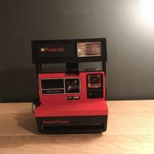 Polaroid Supercolors rouge - vintage