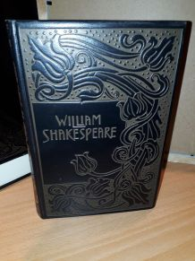 Livre cuir  Shakespeare ed. Jean de Bonnot