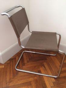 Chaise  B33 Marcel Breuer vintage