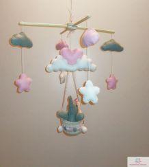 Mobile bébé - Art artisanal fait main