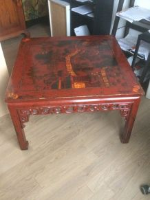 Table basse mongole