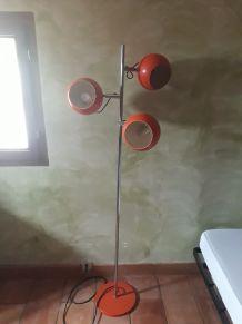 lampadaire 70 orange