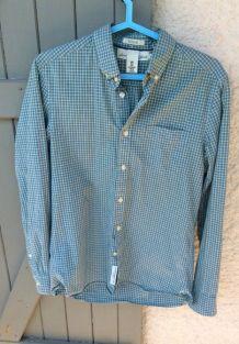 Chemise à carreaux pour homme H&M taille S