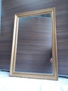 miroir de style ancien cadre dorure