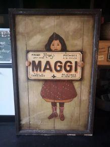 Panneau publicitaire Maggi