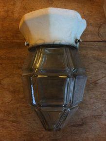 1 plafonnier en verre