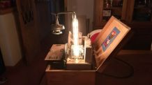 Lampe labo de frankenstein