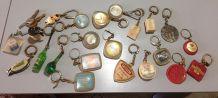 Gros lot de porte clés vintage