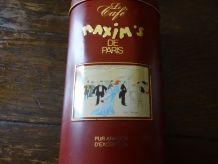 Boîte à café Maxim's