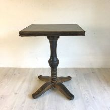 Table bistrot en bois et bakelite vintage 40's