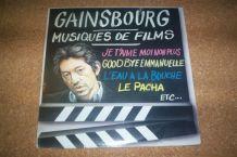 disque 33 tours 11 titres musiques de films serge gainsbourg