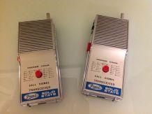Paire de Talkie walkie vintage années 70
