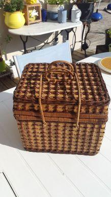 Panier picnic en osier