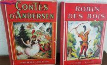 2 ancien livres se contes
