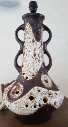 Gros pied de lampe céramique WG