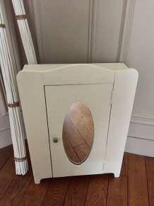Armoire de toilette pour salle de bains vintage