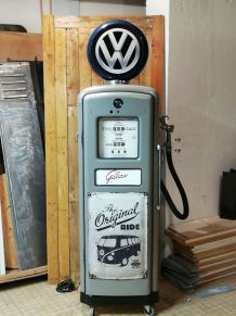 Pompe à essence vintage gilbarco