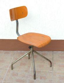 Chaise vintage Industrielle pivotante