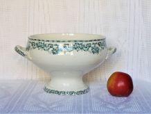 Ancienne soupière / Ancien compotier de table / Légumier.