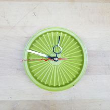 Tupperware revisité en horloge