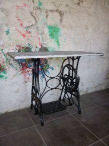BUREAU - CONSOLE - TABLE D'APPOINT STYLE INDUS