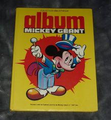 Album Mickey Géant N° 1481 Bis