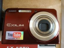 Appareil numérique Casio Exilim S880