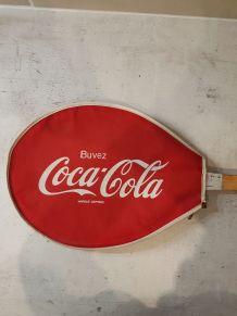 Housse raquette de tennis Coca Cola