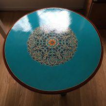 Table basse artisanat marocain