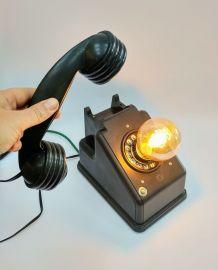 """Lampe industrielle, lampe vintage - """"Blaise le balaise"""""""