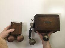 Ancien téléphone  début XIX ème