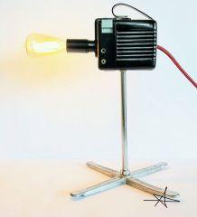 "Lampe vintage, lampe d'ambiance ""Paparazzi"""