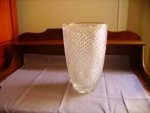 Vase ancien en cristal