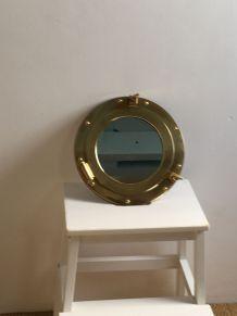 Miroir Hublot Laiton diamètre 30 cm