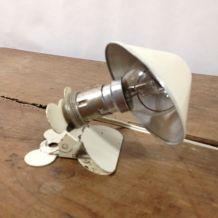 Lampe champigon à pince - 1970's