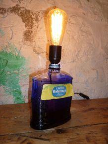 """LAMPE VINTAGE """" L'ENCRE BLEUE """""""