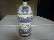 Pot a pharmacie faience st clement