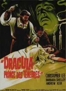 Affiche originale DRACULA PRINCE DES TENEBRES