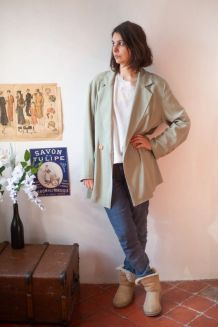 Superbe veste vintage fluide Made in France