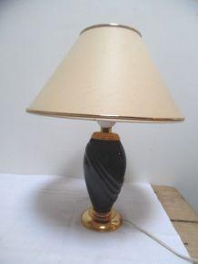 lampe noir et doré