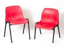 Paire de chaises d'enfants 70's vintage